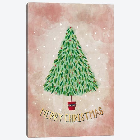 Christmas Cheer II Canvas Print #SCL12} by Sarah Callis Canvas Art