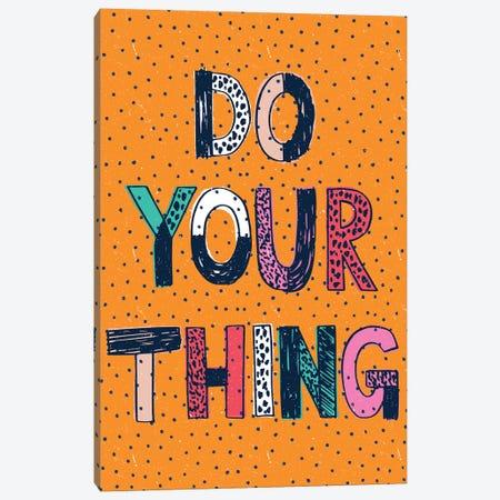 Just Go For It Canvas Print #SCL14} by Sarah Callis Canvas Art Print