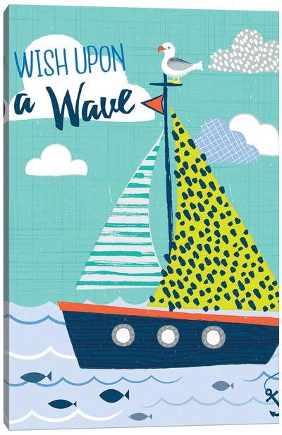 Let's Sail Away I Canvas Art Print