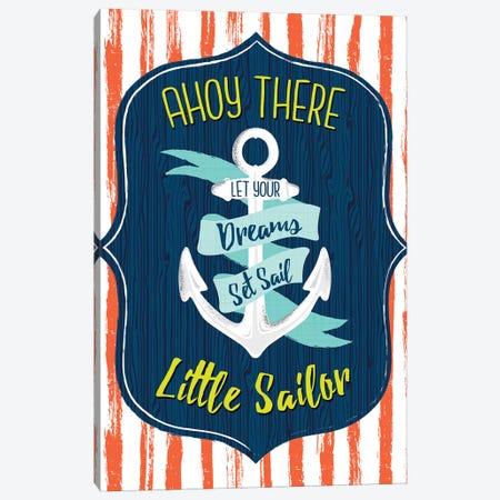 Let's Sail Away II Canvas Print #SCL16} by Sarah Callis Canvas Print