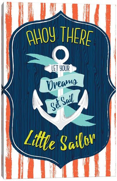 Let's Sail Away II Canvas Art Print