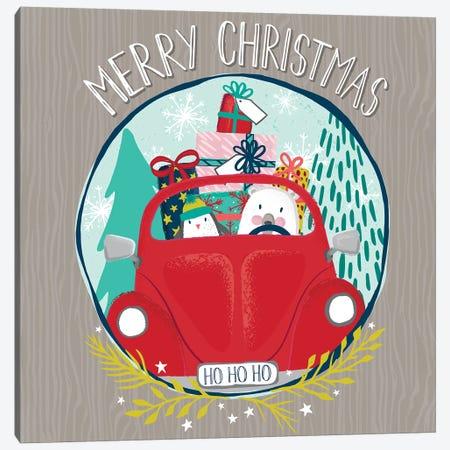 Jingle All The Way II Canvas Print #SCL18} by Sarah Callis Canvas Artwork