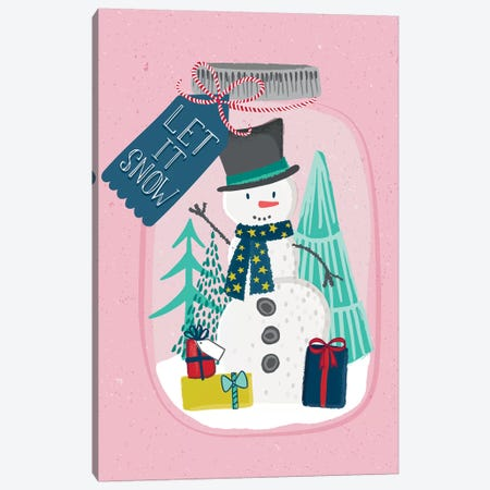 Jingle All The Way III Canvas Print #SCL19} by Sarah Callis Canvas Artwork