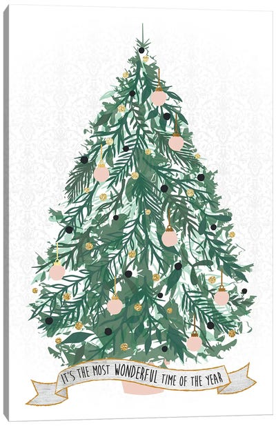 Spirit Of Christmas III Canvas Art Print