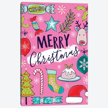 Festive Delights II Canvas Print #SCL25} by Sarah Callis Canvas Art