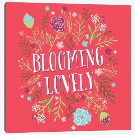 Everyday Spring Garden Canvas Print #SCL29} by Sarah Callis Canvas Art Print