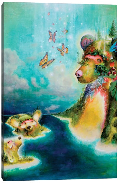 Manitou Canvas Art Print