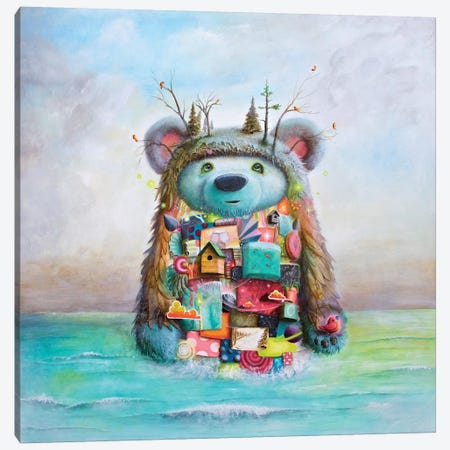 The Adventure Canvas Print #SCM43} by Scott Mills Canvas Artwork
