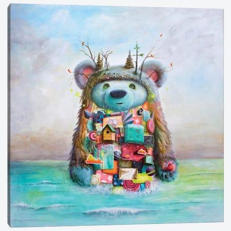 The Adventure Canvas Print #SCM43} by Scott Mills Canvas Artwork