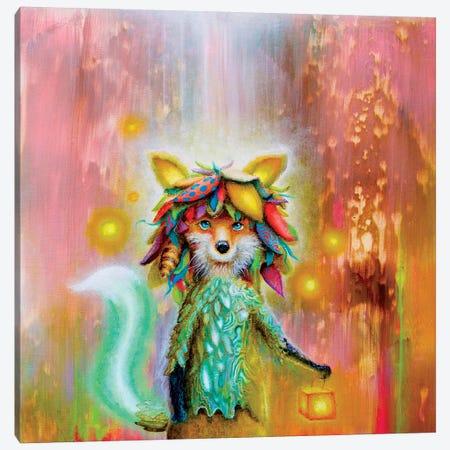 The Fox The Box The Locks Canvas Print #SCM45} by Scott Mills Canvas Print