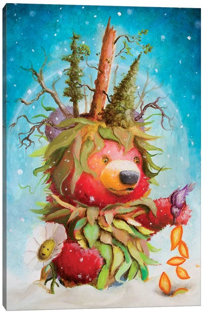 The Seeding Canvas Art Print