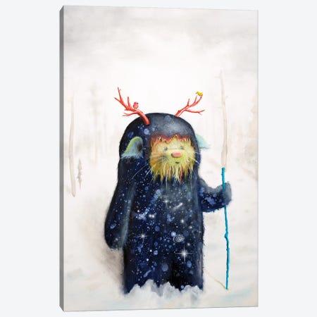 Yeti Canvas Print #SCM56} by Scott Mills Canvas Artwork