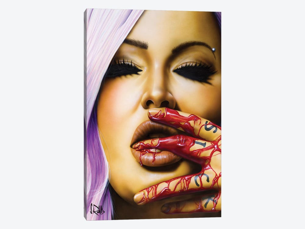 Sick To Death by Scott Rohlfs 1-piece Canvas Art Print