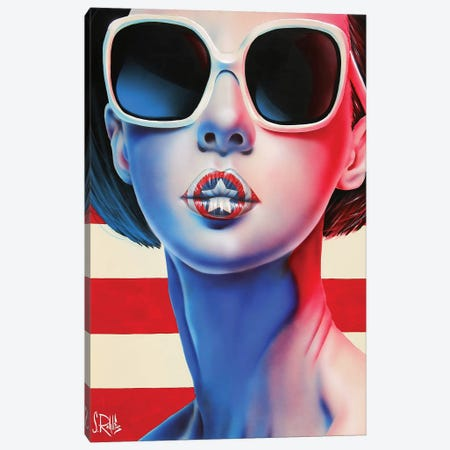 The New National Anthem Canvas Print #SCR103} by Scott Rohlfs Canvas Print