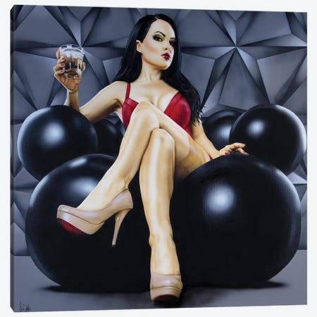 Boss Lady Canvas Print #SCR105} by Scott Rohlfs Canvas Art
