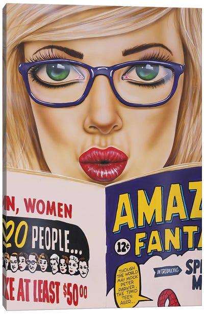 Amazing Read Canvas Art Print