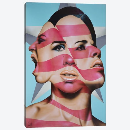 America The Beautiful Canvas Print #SCR113} by Scott Rohlfs Canvas Artwork