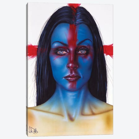 I'm Not The One Canvas Print #SCR116} by Scott Rohlfs Canvas Print