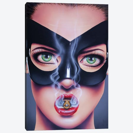 Revolver Canvas Print #SCR118} by Scott Rohlfs Canvas Art