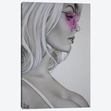 Rose Colored Glasses Canvas Print #SCR119} by Scott Rohlfs Canvas Art