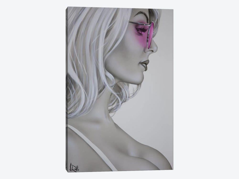 Rose Colored Glasses by Scott Rohlfs 1-piece Canvas Art Print