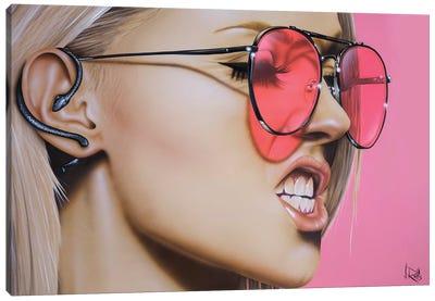 Snake Whisper Canvas Art Print