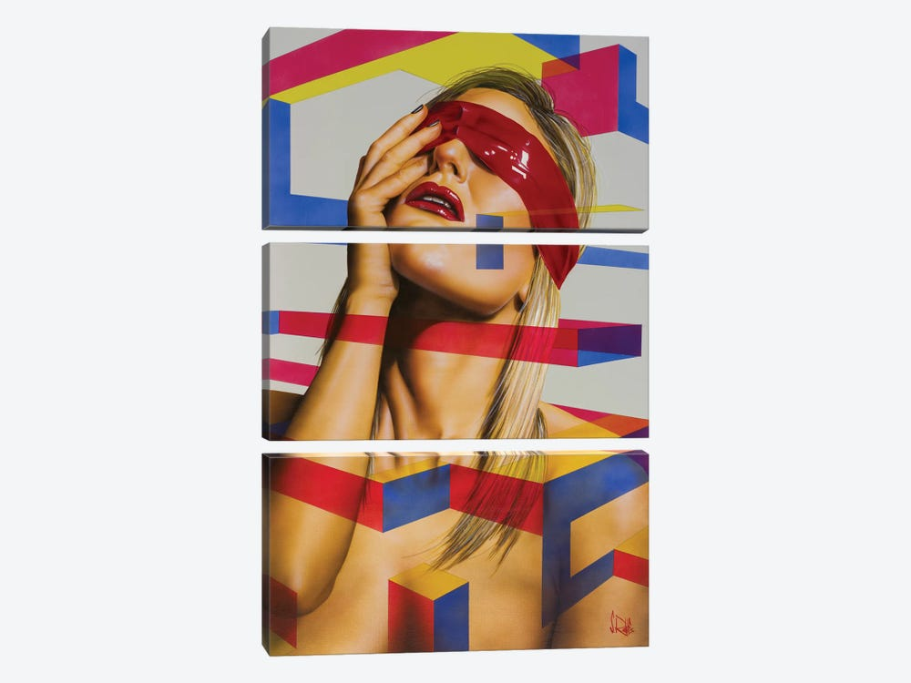 Soul And Body by Scott Rohlfs 3-piece Canvas Wall Art