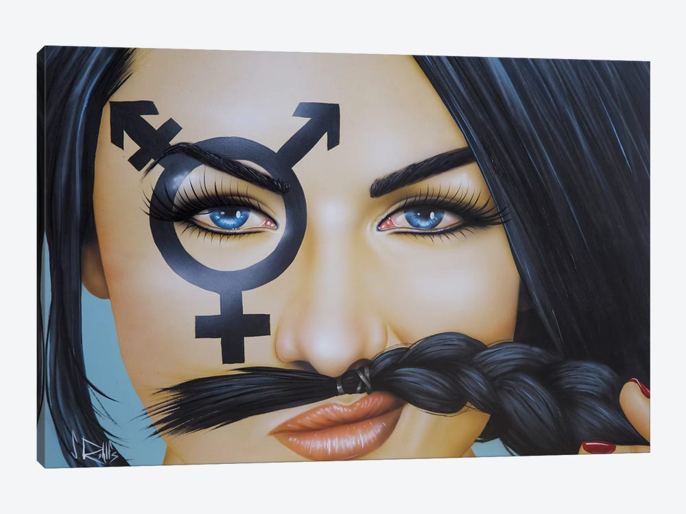 The Soul Has No Gender by Scott Rohlfs 1-piece Canvas Print