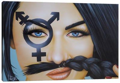 The Soul Has No Gender Canvas Art Print