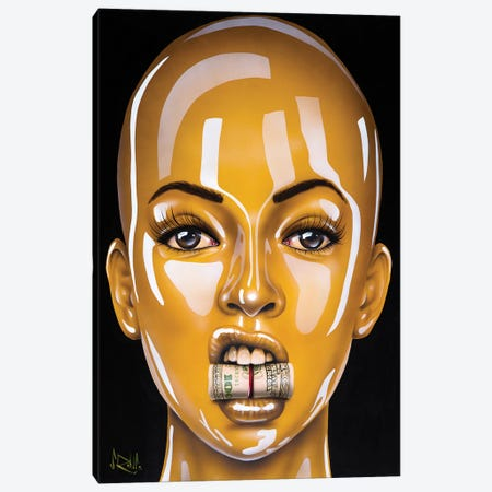 C.R.E.A.M. Canvas Print #SCR124} by Scott Rohlfs Canvas Wall Art