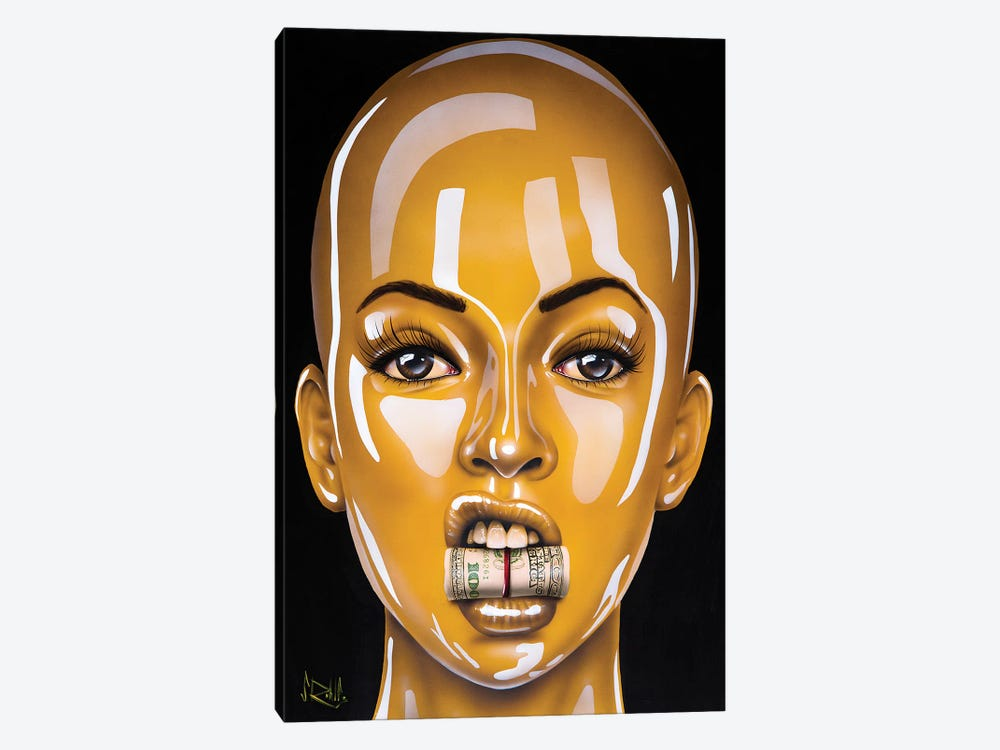 C.R.E.A.M. by Scott Rohlfs 1-piece Canvas Print