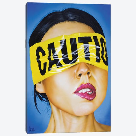 Cautionary Tale Canvas Print #SCR125} by Scott Rohlfs Canvas Wall Art