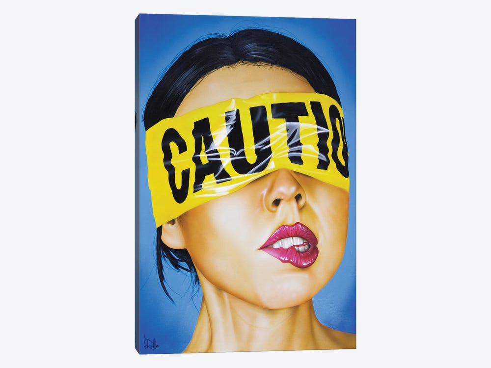 Cautionary Tale by Scott Rohlfs 1-piece Canvas Artwork