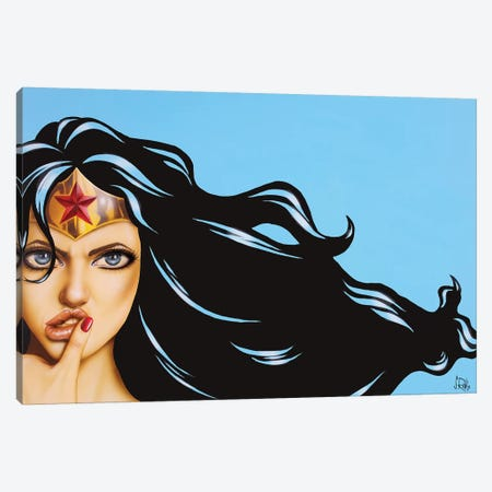 It's On Canvas Print #SCR129} by Scott Rohlfs Art Print