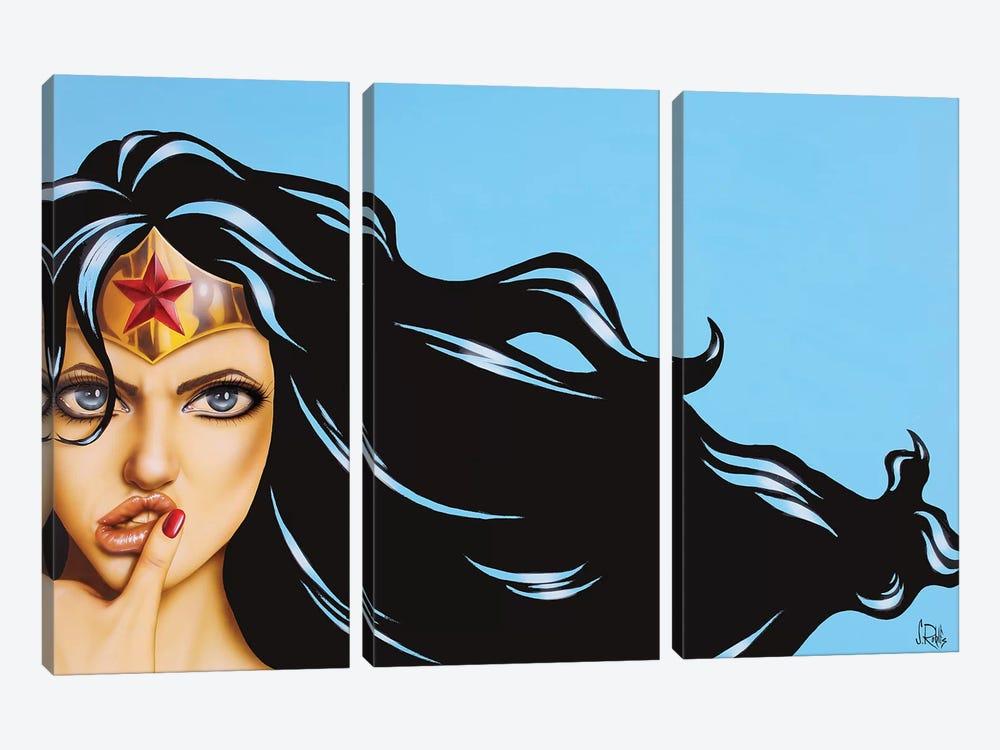 It's On by Scott Rohlfs 3-piece Canvas Wall Art