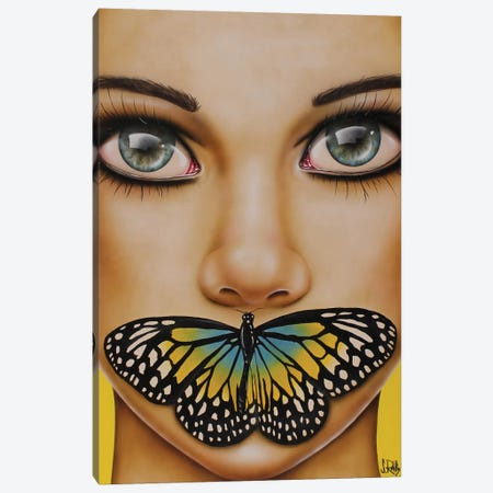 Butterfly Thoughts Canvas Print #SCR12} by Scott Rohlfs Canvas Art