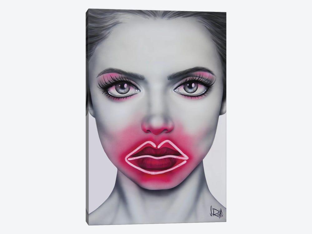 Neon Kisses by Scott Rohlfs 1-piece Canvas Wall Art