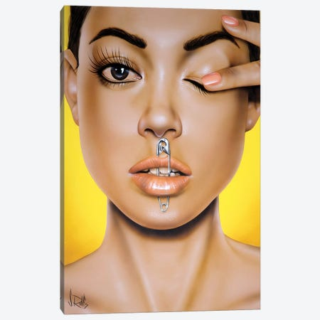 Safety First Canvas Print #SCR131} by Scott Rohlfs Canvas Artwork