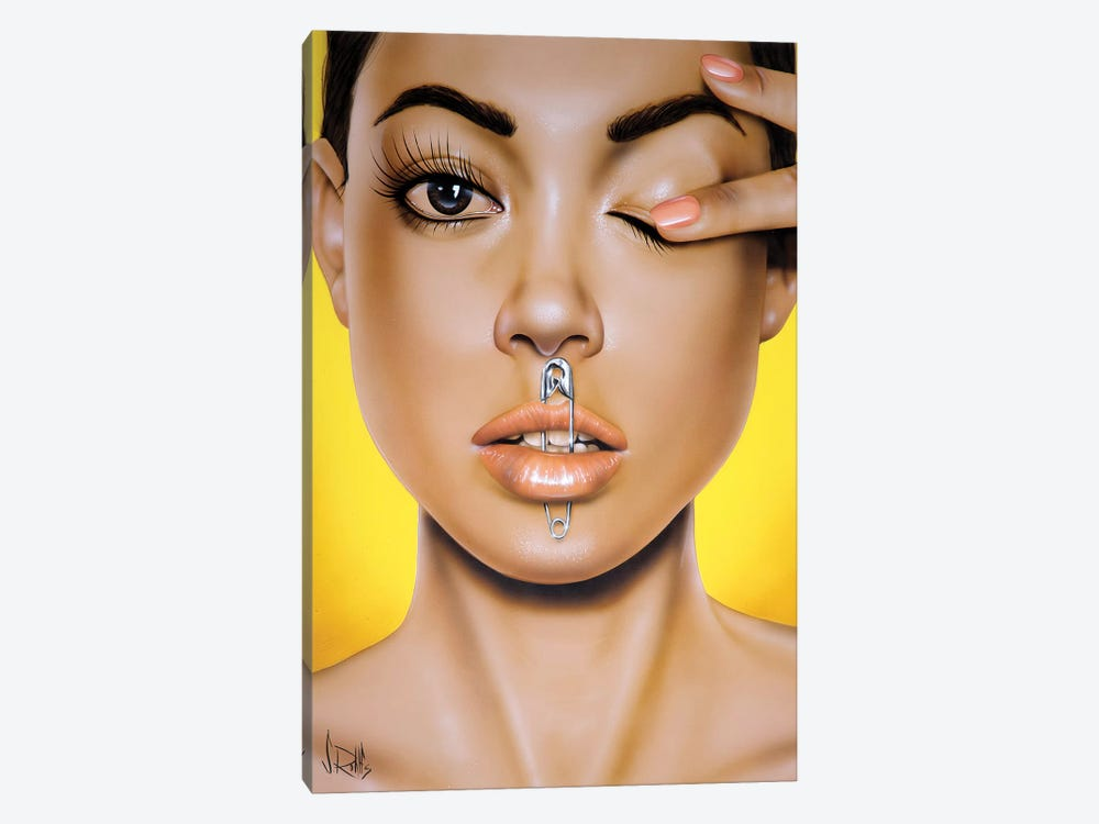 Safety First by Scott Rohlfs 1-piece Canvas Art Print
