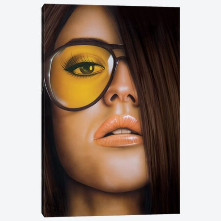 The Good Side Canvas Print #SCR134} by Scott Rohlfs Canvas Art Print