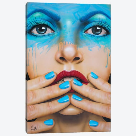 World Gone Mad Canvas Print #SCR135} by Scott Rohlfs Art Print