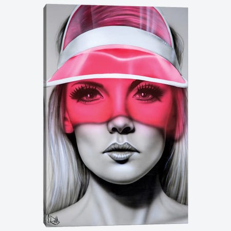 Cut to the Feeling Canvas Print #SCR137} by Scott Rohlfs Art Print