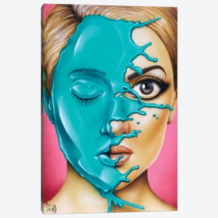 Drown Me Out Canvas Print #SCR138} by Scott Rohlfs Canvas Artwork
