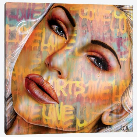 Love Hurts #2 Canvas Print #SCR143} by Scott Rohlfs Art Print