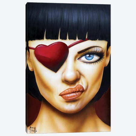 Memories of a Broken Heart Canvas Print #SCR145} by Scott Rohlfs Canvas Artwork