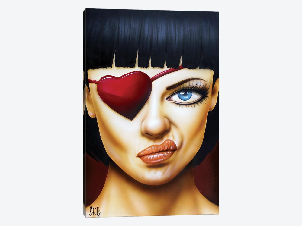Memories of a Broken Heart by Scott Rohlfs 1-piece Canvas Artwork