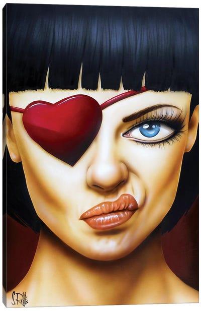 Memories of a Broken Heart Canvas Art Print