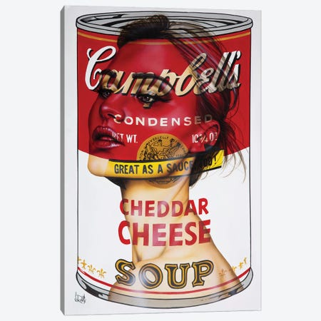 Cheddar Cheese Canvas Print #SCR153} by Scott Rohlfs Canvas Art