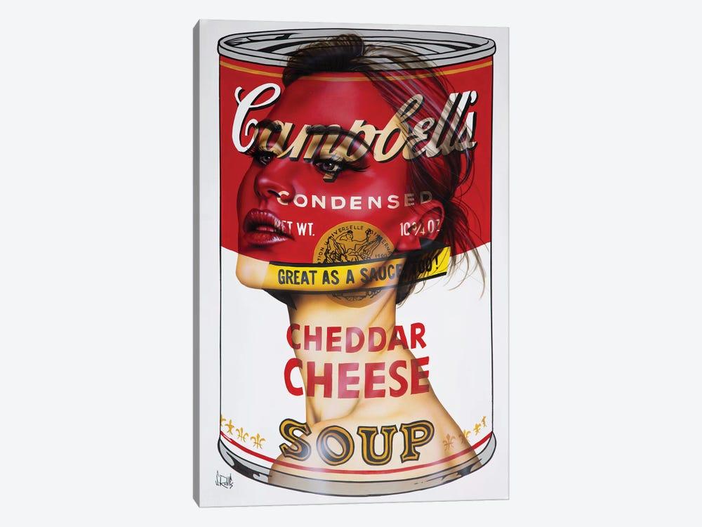 Cheddar Cheese by Scott Rohlfs 1-piece Canvas Art Print