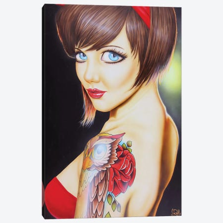 Charmer Canvas Print #SCR15} by Scott Rohlfs Canvas Art Print